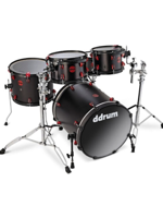 Ddrum Hybrid 5 Piece, Satin Black (SET EXPO)
