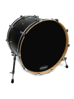 Evans BD22RA - EQ1 Black Resonant 22""