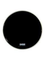 "Evans BD24RA - EQ1 Black Resonant 24"" PRE-LEVEL360"