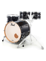 Pearl MCT924XEP/C339 - Batteria Masters Complete - Masters Complete Drumset in Matte Caviar Black