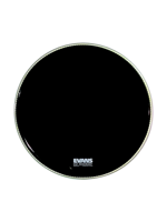 "Evans BD20RA - EQ1 Black Resonant 20"" PRE-LEVEL360"